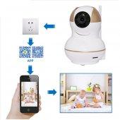 Olix Angel KS-511 Wifi 360 Derece HD iP Kamera Ev ve Bebek  4 in 1 Güvenlik Seti-2