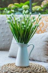 2 Demet Chetori To Beyaz Yapay Çiçek