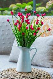 2 Demet Chetori To Fuşya Yapay Çiçek