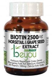 Biotin 2500 Mcg Beyou Plus 60 Kapsül 880 Mg B7 Vitamin