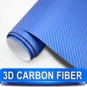 Mavi Karbon Kaplama 50 Cm X 1 Metre