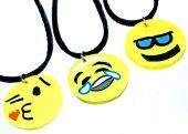 Emoji Kolye (12 Adet) 128563 d