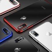 Iphone 8 Kılıf İnce Zarif Kaplamalı Kılıf