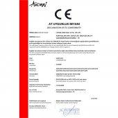Avonni AV-60186-1E Eskitme/Siyah Kaplama Modern Avize-2