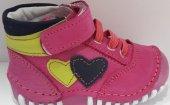 Pappikids238 Ortopedik Deri Kız İlk Adım Ayakkabısı Bot