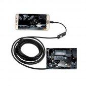 Olix Endoskop Yılan Kamera 6 Ledli Işıklı Su Geçirmez Sert Kablolu 10 Metre-2