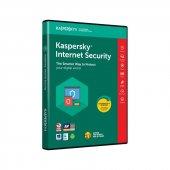 Kaspersky İnternet Security 2019 2 Kullanıcı 1 Yıl Lisans (Kutulu Dvd)