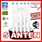Günün Fırsatı 5 Anten Yoosee 360 1080p Kablosuz İp Güvenelik Kamersı (Bebek Kamerası Tak Çalıştır Yoosee App