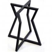 Payanda Siyah Metal Sehpa