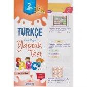 Güneş 2. Sınıf Türkçe Çek Kopar Yaprak Test Yeni