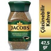 Jacobs Monarch Gold 47,5 Gr Cam Kavanoz