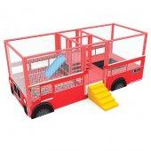 Kırmızı Otobüs Top Havuzu Bj J7808