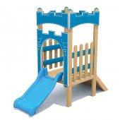 ısafe Ahşap Minik Kale Oyun Parkı Bj S5706