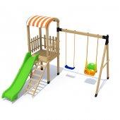 ısafe Ahşap Çocuk Parkı S5703 Bj S5703