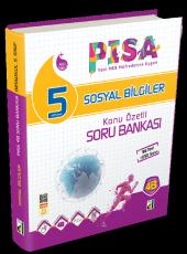 5. Sınıf PİSA 4B Sosyal Bilgiler Soru Bankası Damla Yayınevi