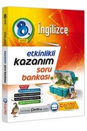 8.Sınıf İngilizce Etkinlikli Kazanım Soru Bankası Çanta Yayınları