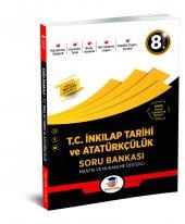 8.Sınıf T.C İnkılap Tarihi Soru Bankası Zeka Küpü Yayınları