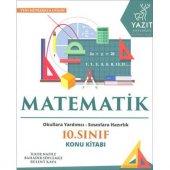 10.Sınıf Matematik Konu Kitabı Yazıt Yayınları
