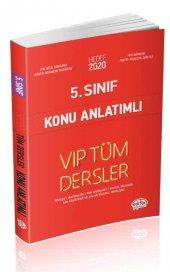 5.Sınıf VIP Tüm Dersler Konu Anlatımı Editör Yayınları