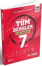 7. Sınıf Tüm Dersler Soru Bankası Sınav Yayınları