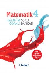 4.Sınıf Matematik Kazanım Odaklı Soru Bankası Tudem Yayıları