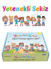 Yetenekli Sekiz 4 Yaş Eğitim Seti İlk Adım Yayınları
