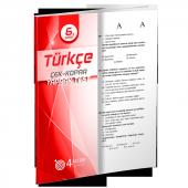 6. Sınıf Türkçe Yaprak Test 4 Adım Yayınları