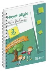 3. Sınıf Hayat Bilgisi Akıllı Defterim 4 Adım Yayınları