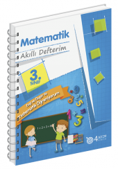 3. Sınıf Matematik Akıllı Defterim 4 Adım Yayınları