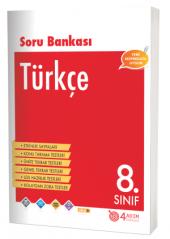 8. Sınıf Türkçe Soru Bankası 4 Adım Yayınları