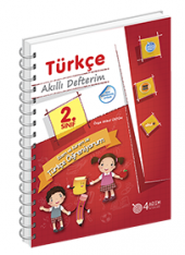 2. Sınıf Türkçe Akıllı Defterim 4 Adım Yayınları