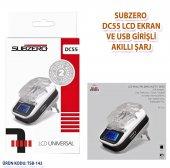 Subzero Dc55 Lcd Ekran Ve Usb Girişli Akıllı Şarj