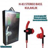 H 83 Stereo Bass Kulaklık