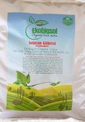 Ekobigsol %100 Organik Solucan Gübresi 3 Kg