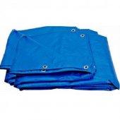 çadır Dikili Branda 5mx5m Mavi 25m 2