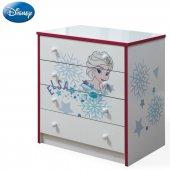 Disney Frozen Pinky Genç Odası Takımı Şifonyer