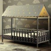 Montessori Yatak , Gümüşlük Montessori Yatak Ledli