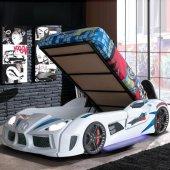 Audi Bazalı Arabalı Yatak , Kapıları Açılan Arabalı Yatak