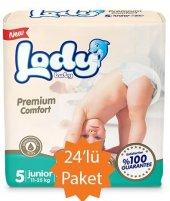 Lody Baby 5 Numara Junio) Bebek Bezi 11 25 Kg 24lü Paket