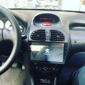 Peugeot 206 Android Navigasyon*dvd*usb*bluetooth*hd Kamera Hediye