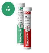 3 Set Renovexin Saç Dökülme Karşıtı Ve Renovexin Saç Çıkartıcı