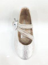 MiniWomen002 Günlük Ortopedik Abiye/Babet KızÇocuk Ayakkabıları Gümüş-2