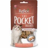 Reflex Somonlu Pocket Kedi Ödülü 60 gr.skt:04/12/20