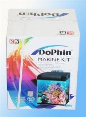 Dophin Deniz Akvaryum Kit Bombeli Mavi 32x30x36