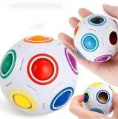Sihirli Rubik Top Akıl Zeka Geliştirici Bilyeli...