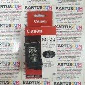 CANON BC-20 SIYAH ORJINAL KARTUŞ BJC-2000/2100/4000/4400