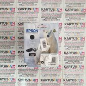 EPSON 26 C13T26014020 SIYAH ORJINAL KARTUŞ - KUTUSU HASARLI