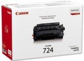 CANON CRG-724 SIYAH ORJINAL TONER LBP-3580/6750/6780/-3