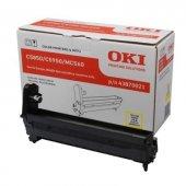 OKI C5850/C5950/MC560/ 43870021 SARI ORJINAL DRUM ÜNİTESİ-5