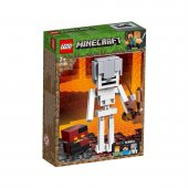 Lego Minecraft Magma Küplü Bigfig İskelet 21150...